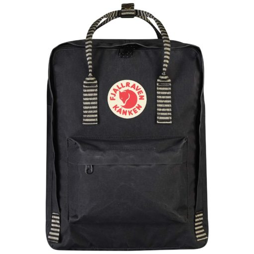 fjallraven kanken black striped